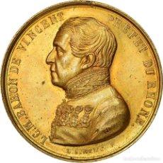 Medallas históricas: FRANCIA, MEDALLA, BARON DE VINCENT, PRÉFET DU RHÔNE, POLITICS, SOCIETY, WAR. Lote 205642762