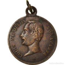 Medallas históricas: FRANCIA, MEDALLA, LOUIS NAPOLÉON BONAPARTE RÉÉLU AU SUFFRAGE UNIVERSEL, BC+. Lote 205642796