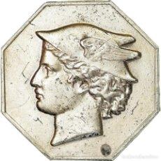 Medallas históricas: FRANCIA, TOKEN, CHAMBRE DE COMMERCE DE DIEPPE, BUSINESS & INDUSTRY, MBC, PLATA. Lote 205642861