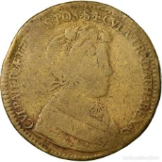 Medallas históricas: FRANCIA, TOKEN, DAUPHINÉ, LOUIS V LE GRAND DAUPHIN, HISTORY, 1662, BC, COBRE. Lote 205643248