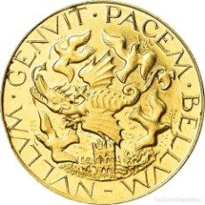 Medallas históricas: FRANCIA, MEDALLA, LA PAIX, POLITICS, SOCIETY, WAR, SC, ORO. Lote 205643670
