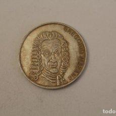 Medallas históricas: GREGORIO MAYANS MONEDA EN PLATA DE LEY. Lote 206414330