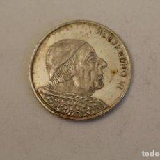 Medallas históricas: ALEJANDRO VI MONEDA EN PLATA DE LEY. Lote 206414540