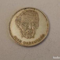 Medallas históricas: JUAN CABANILLES MONEDA EN PLATA DE LEY. Lote 206414820