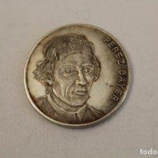 Medallas históricas: PEREZ BAYER MONEDA EN PLATA DE LEY. Lote 206415173
