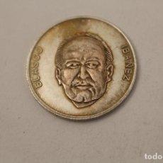 Medallas históricas: BLASCO IBAÑEZ MONEDA EN PLATA DE LEY. Lote 206415990