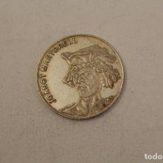 Medallas históricas: JOAQUIN MARTORELL MONEDA EN PLATA DE LEY. Lote 206416402