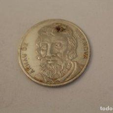 Medallas históricas: ARNAU DE VILANOVA MONEDA EN PLATA DE LEY. Lote 206416692
