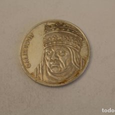 Medallas históricas: CALIXTO III MONEDA EN PLATA DE LEY. Lote 206416818