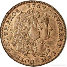 Medallas históricas: FRANCIA, TOKEN, LOUIS XIV, FLANDRE FRANÇAISE, VILLE DE LILLE, 1667, RESTRIKE. Lote 207049152