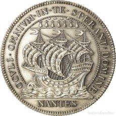 Medallas históricas: FRANCIA, TOKEN, CHAMBER OF COMMERCE, CHAMBRE DE COMMERCE DE NANTES, MBC+, PLATA. Lote 207067048