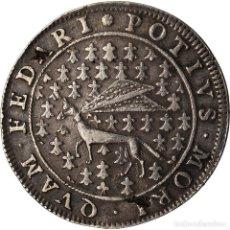 Medallas históricas: FRANCIA, TOKEN, ROYAL, LOUIS XIV, ÉTATS DE BRETAGNE, HERMINE, MBC, PLATA. Lote 207077972