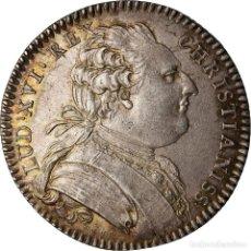 Medallas históricas: FRANCIA, TOKEN, ROYAL, LOUIS XVI, ÉTATS DE BRETAGNE, RENNES, 1782, DUVIVIER. Lote 207078098