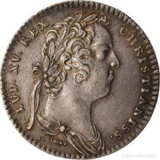 Medallas históricas: FRANCIA, TOKEN, ROYAL, 1732, MBC+, COBRE, FEUARDENT:2033. Lote 207080105