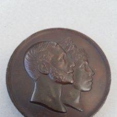 Medallas históricas: MEDALLA BODA ALFONSO XII Y MARIA CRISTINA 1879. Lote 207119661