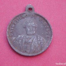 Medallas históricas: MEDALLA POLÍTICA ANTIGUA DE SALUSTIANO DE OLOZAGA. 20 AÑOS DE LUCHA CONTRA LOS BORBONES. MUY RARA.. Lote 207294457