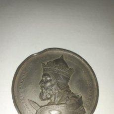 Medallas históricas: MEDALLA INAUGURACIÓN DE LA ESTATUA DE GODFREY DE BOUILLON.. Lote 207338147