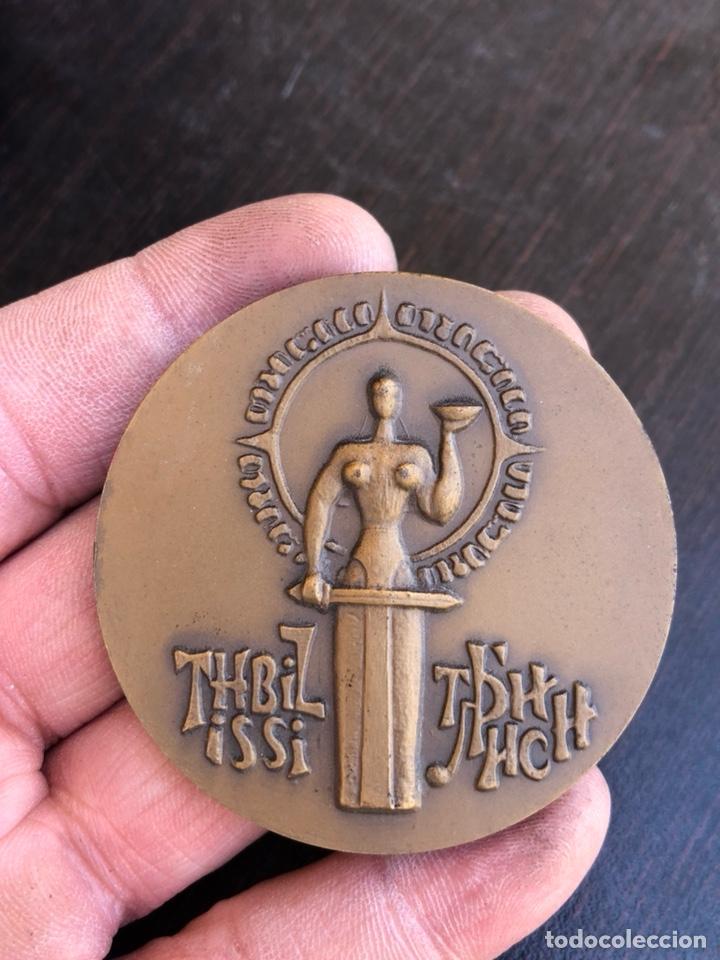 BONITA MEDALLA FINLANDESA CONMEMORATIVA GRAN TAMAÑO (Numismática - Medallería - Histórica)