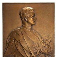 Medallas históricas: MEDALLA CONMEMORATIVA DEL SESQUICENTENARIO DE LA ACADEMIA DE CIENCIAS BELGA, BELLES LETTRES ET ARTS.. Lote 207981393