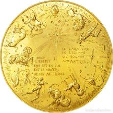 Medallas históricas: MEDALLA LOS HORÓSCOPOS. Lote 207982911