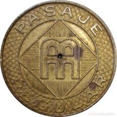 Medallas históricas: PUERTO RICO. TOKEN AMA (AUTORIDAD METROPOLITANA DE AUTOBUSES DE SAN JUAN DE P.R.), 1959-1980. (171).. Lote 208057762