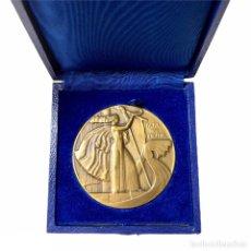Medallas históricas: MEDALLA EN BRONCE ART DÉCO - FLUCTUAT NEC MERGITUR - OFFERT PAR LE CONSEIL DE PARIS - DAMMANN. Lote 208169987