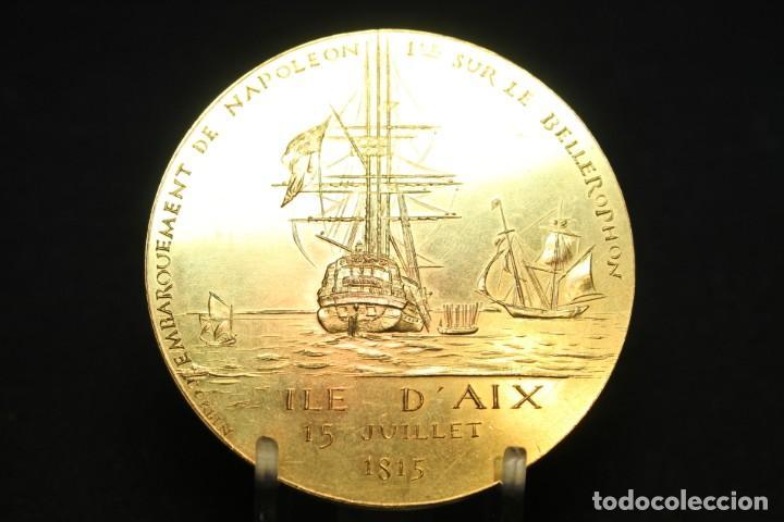 CORBIN, MEDALLA CONMEMORATIVA DE NAPOLEÓN (Numismática - Medallería - Histórica)