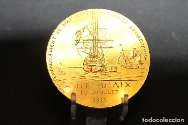 Medallas históricas: CORBIN, MEDALLA CONMEMORATIVA DE NAPOLEÓN - Foto 2 - 208324840