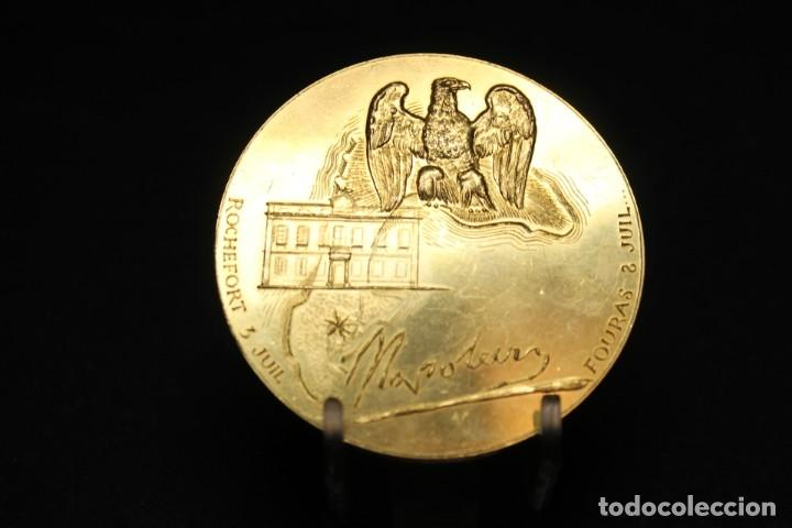Medallas históricas: CORBIN, MEDALLA CONMEMORATIVA DE NAPOLEÓN - Foto 3 - 208324840