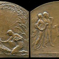 Medallas históricas: MEDALLA EXPOSICIÓN MUNDIAL INTERNACIONAL, 1913. Lote 208929917