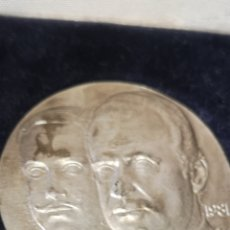 Medallas históricas: MEDALLA DE ALFONSO XIII JUAN CARLOS I, 1881 A 1991 10 DE MARZO. Lote 210236592