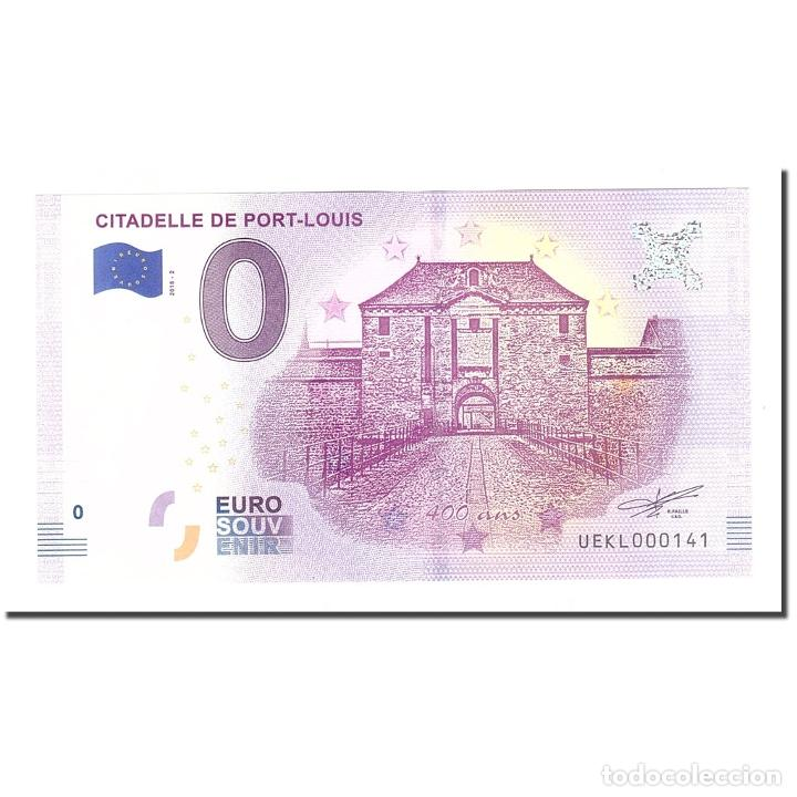 FRANCIA, TOURIST BANKNOTE - 0 EURO, 56/ PORT-LOUIS - CITADELLE DE PORT-LOUIS - (Numismática - Medallería - Histórica)