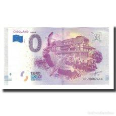 Medallas históricas: FRANCIA, TOURIST BANKNOTE - 0 EURO, 67/ KINTZHEIM - CIGOLAND PARC D'ATTRACTIONS. Lote 210341390