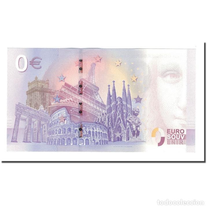 Medallas históricas: Francia, Tourist Banknote - 0 Euro, 75/ Paris - La Conciergerie - Centre des - Foto 2 - 210342450