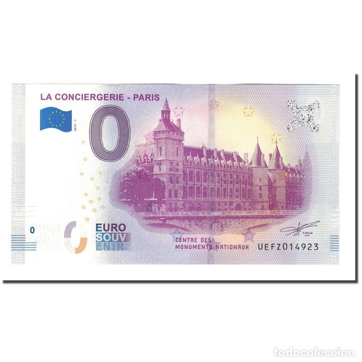 FRANCIA, TOURIST BANKNOTE - 0 EURO, 75/ PARIS - LA CONCIERGERIE - CENTRE DES (Numismática - Medallería - Histórica)
