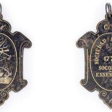 Medallas históricas: SOCIEDAD ECONÓMICA BARCELONESA. 1775. MEDALLA. MUY ESCASA. EBC. Lote 210344048