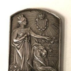 Medallas históricas: MEDALLA ALFONSO XIII REY DE ESPAÑA XXV ANIVERSARIO DE SU REINADO. 17 DE MAYO DE 1902-1927. Lote 210654365
