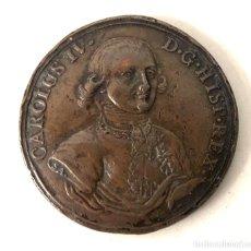 Medallas históricas: MEDALLA CAROLUS IV DG HISP REX. PROCLAMACION CARLOS IV. 1789. Lote 210654711