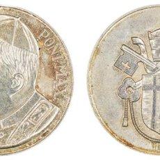 Medallas históricas: MEDALLA CONMEMORATIVA. JUAN PABLO II. 19.4GR. PLATA. Ø3.7CM. Lote 211516850