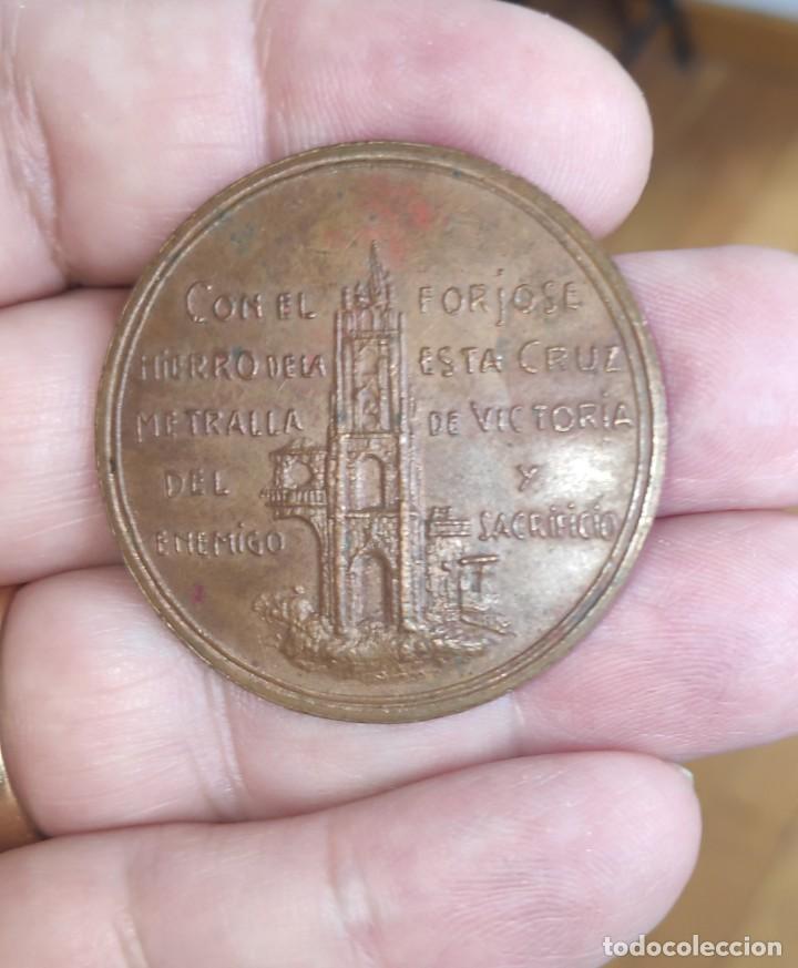 Medallas históricas: ASTURIAS MEDALLA DE MANO POR LA DEFENSA DE OVIEDO 1936-1937 GUERRA CIVIL.ORIGINAL*MILITAR-HISTÓRICA* - Foto 7 - 211614659