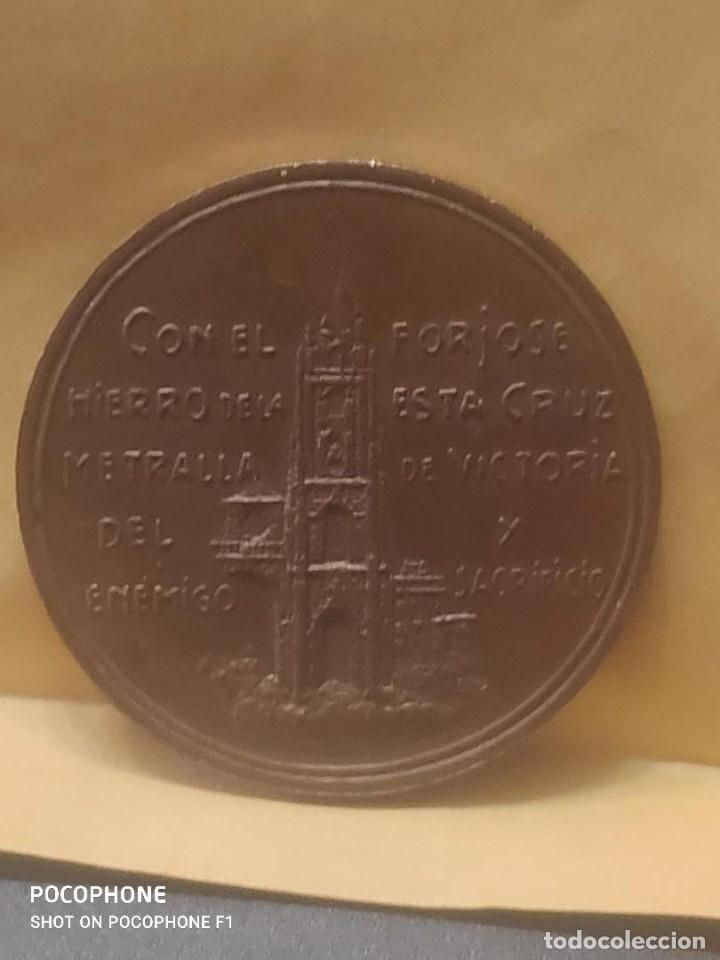 Medallas históricas: ASTURIAS MEDALLA DE MANO POR LA DEFENSA DE OVIEDO 1936-1937 GUERRA CIVIL.ORIGINAL*MILITAR-HISTÓRICA* - Foto 9 - 211614659