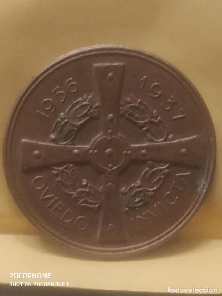 Medallas históricas: ASTURIAS MEDALLA DE MANO POR LA DEFENSA DE OVIEDO 1936-1937 GUERRA CIVIL.ORIGINAL*MILITAR-HISTÓRICA* - Foto 14 - 211614659