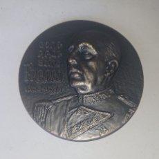 Medallas históricas: MEDALLA DE BRONCE DEL GENERALISIMO FRANCO 1892-1975. Lote 211683138