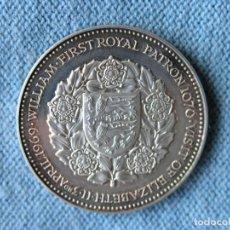 Medallas históricas: MEDALLA 900 AÑOS ABADÍA DE SELBY - VISITA DE ELIZABETH II - UK - 1969 - PROOF - PLATA 925 - 3,8 CMS.. Lote 211938576