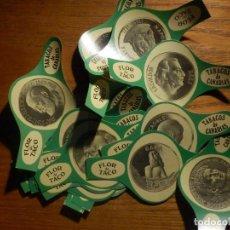 Medallas históricas: 24 VITOLAS CIGARROS PUROS - CIGAR BANDS - SERIE - F. TACO - FLOR DE - CANARIAS - MEDALLAS I. Lote 212187552