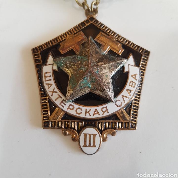 Medallas históricas: MEDALLA SOVIETICA A LA GLORIA MINERA - Foto 3 - 213077622