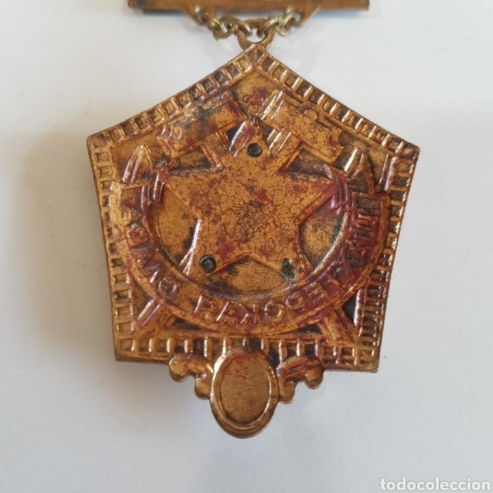 Medallas históricas: MEDALLA SOVIETICA A LA GLORIA MINERA - Foto 6 - 213077622