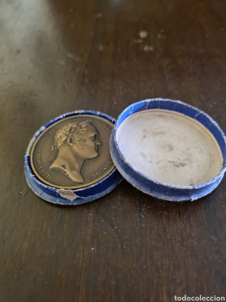 Medallas históricas: Medalla rusa Alexandre 1802 a 1952 - Foto 5 - 213467340