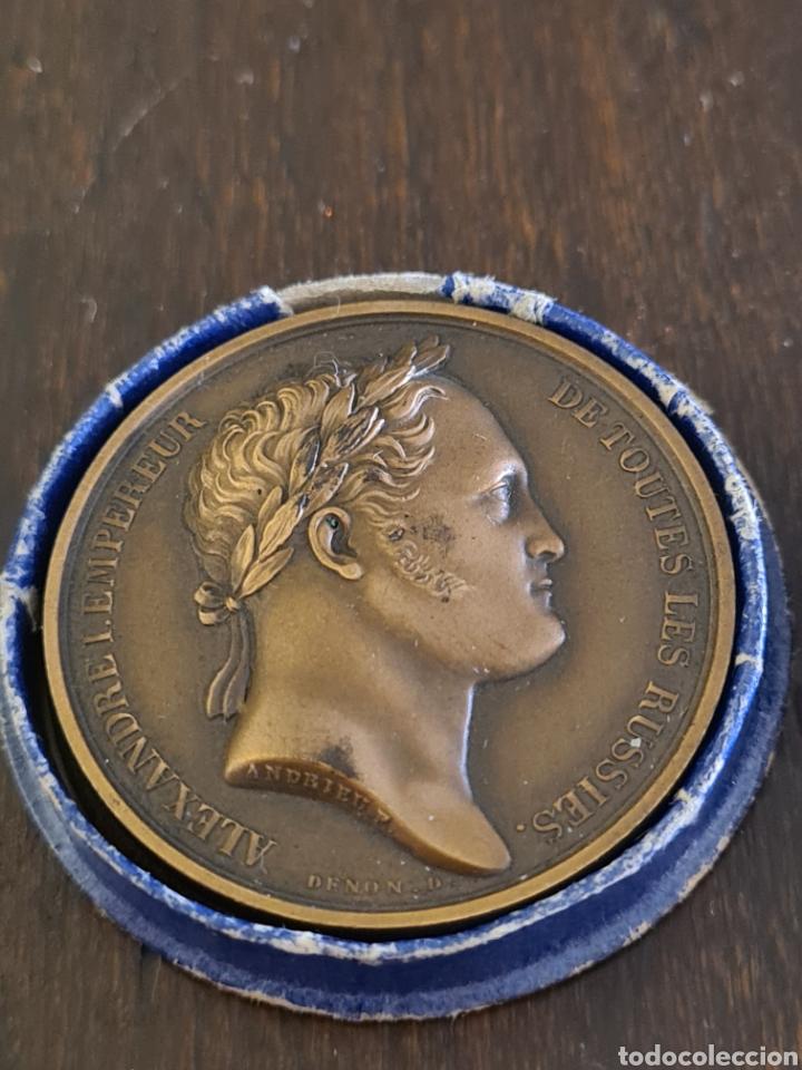 MEDALLA RUSA ALEXANDRE 1802 A 1952 (Numismática - Medallería - Histórica)