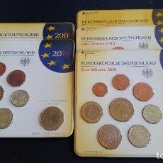 Medallas históricas: MONEDAS- ALEMANIA 5 SET CON 9 VALORES-2012 A-2010 G-2010 A-2010 J-2009 A ( SU38 ). Lote 213766558